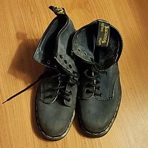 Doc Martens  Air Wair blue boots